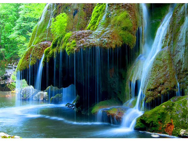 Romania's Bigar Waterfalls