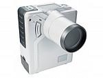hand-held camera