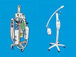 Portable inhalation sedation system & Zoom! Whitening Machine